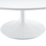 "Modway Furniture Lippa 40"" White Coffee Table , dining tables - Modway Furniture, Minimal & Modern - 2"