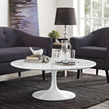 "Modway Furniture Lippa 40"" White Coffee Table , dining tables - Modway Furniture, Minimal & Modern - 4"