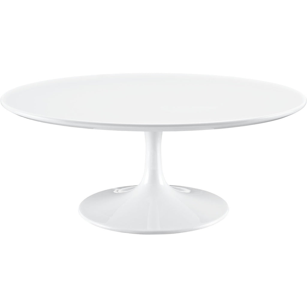 "Modway Furniture Lippa 40"" White Coffee Table , dining tables - Modway Furniture, Minimal & Modern - 1"