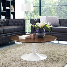 "Modway Furniture Lippa 36"" Walnut Coffee Table EEI-1653-WAL-Minimal & Modern"