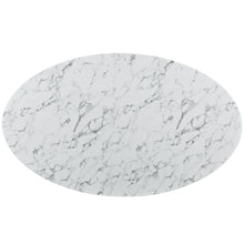"78"" Artificial Marble Modern White Circular Dining Table , dining tables - Lanna Furniture, Minimal & Modern - 3"
