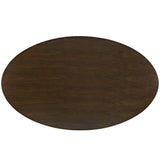 "Modway Furniture Lippa 78"" Wood Modern Walnut Dining Table , dining tables - Modway Furniture, Minimal & Modern - 3"