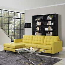 Modway Furniture Modern Empress Left-facing Upholstered Sectional Sofa EEI-1666-Minimal & Modern