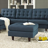 Modway Furniture Empress Upholstered Ottoman , Ottoman - Modway Furniture, Minimal & Modern - 4