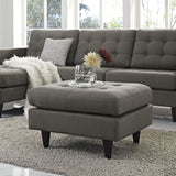 Modway Furniture Empress Upholstered Ottoman , Ottoman - Modway Furniture, Minimal & Modern - 24