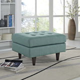 Modway Furniture Empress Upholstered Ottoman , Ottoman - Modway Furniture, Minimal & Modern - 20