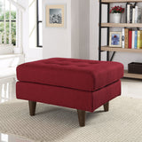 Modway Furniture Empress Upholstered Ottoman , Ottoman - Modway Furniture, Minimal & Modern - 12