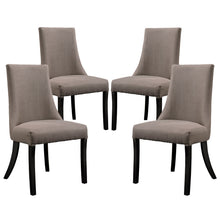 Modway Furniture Modern Reverie Dining Side Chair Set of 4 - Minimal and Modern