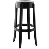 Modway Furniture Casper Modern Bar Stool Black, Bar Stools - Modway Furniture, Minimal & Modern - 20