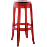Modway Furniture Casper Modern Bar Stool Red, Bar Stools - Modway Furniture, Minimal & Modern - 12