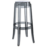 Modway Furniture Casper Modern Bar Stool Smoke, Bar Stools - Modway Furniture, Minimal & Modern - 9
