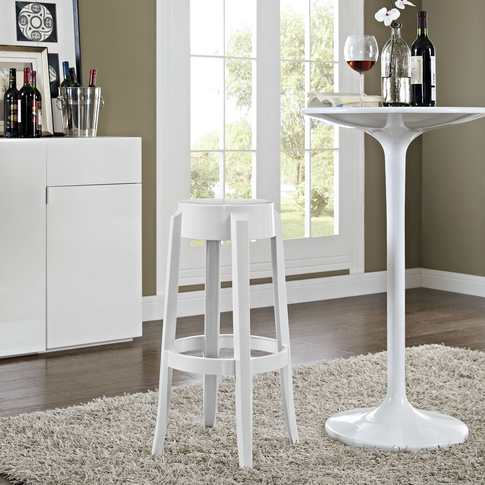 Modway Furniture Casper Modern Bar Stool Eei 170 Minimal