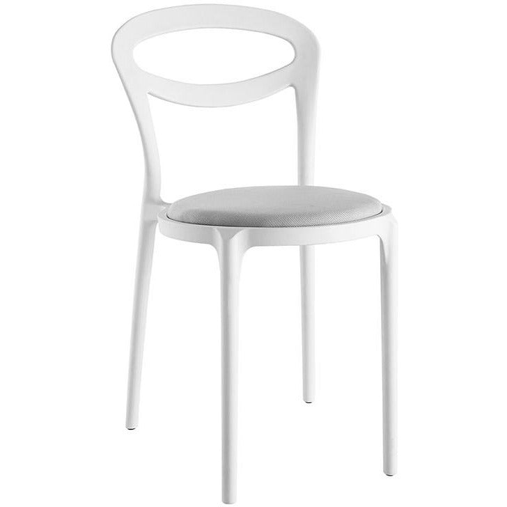Modway Furniture Assist Modern Dining Side Chair EEI-1772-WHI-GRY-Minimal & Modern