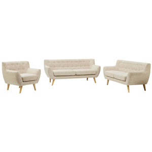 Modway Furniture Modern Remark 3 Piece Living Room Set - Minimal and Modern