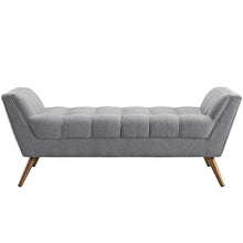 Modway Furniture Modern Response Medium Fabric Bench EEI-1789-Minimal & Modern