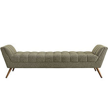 Modway Furniture Modern Response Fabric Bench EEI-1790-Minimal & Modern