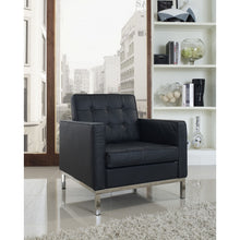 Modway Furniture Loft Leather Armchair EEI-183-Minimal & Modern