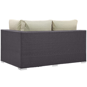 Modway Furniture Modern Convene Outdoor Patio Right Arm Loveseat EEI-1841-Minimal & Modern
