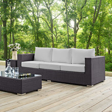 Modway Furniture Modern Convene Outdoor Patio Sofa EEI-1844-Minimal & Modern