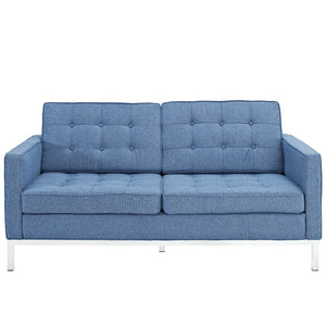 Modway Furniture Loft Wool Loveseat EEI-186-Minimal & Modern