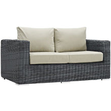 Modway Furniture Modern Summon Outdoor Patio Loveseat in Sunbrella EEI-1865-Minimal & Modern