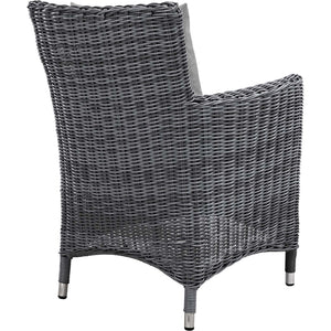 Modway Furniture Modern Summon Dining Outdoor Patio Armchair in Sunbrella EEI-1935-Minimal & Modern