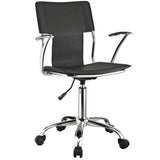 Modway Modern Studio Mid Back Adjustable Computer Office Chair - Minimal & Modern - 14