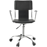 Modway Modern Studio Mid Back Adjustable Computer Office Chair - Minimal & Modern - 15