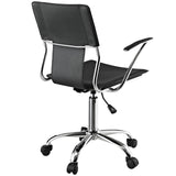 Modway Modern Studio Mid Back Adjustable Computer Office Chair - Minimal & Modern - 16