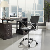 Modway Modern Studio Mid Back Adjustable Computer Office Chair - Minimal & Modern - 17