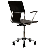 Modway Modern Studio Mid Back Adjustable Computer Office Chair - Minimal & Modern - 12