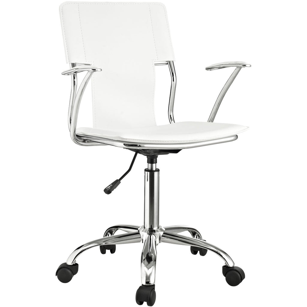 Modway Modern Studio Mid Back Adjustable Computer Office Chair - Minimal & Modern - 1