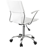 Modway Modern Studio Mid Back Adjustable Computer Office Chair - Minimal & Modern - 3
