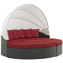 Modway Furniture Modern Sojourn Outdoor Patio Daybed in Sunbrella EEI-1986-CHC-Minimal & Modern