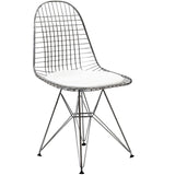 Modway Furniture Tower Modern Dining Side Chair White, Dining Chairs - Modway Furniture, Minimal & Modern - 4