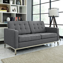 Modway Furniture Modern Loft Fabric Loveseat EEI-2051-Minimal & Modern