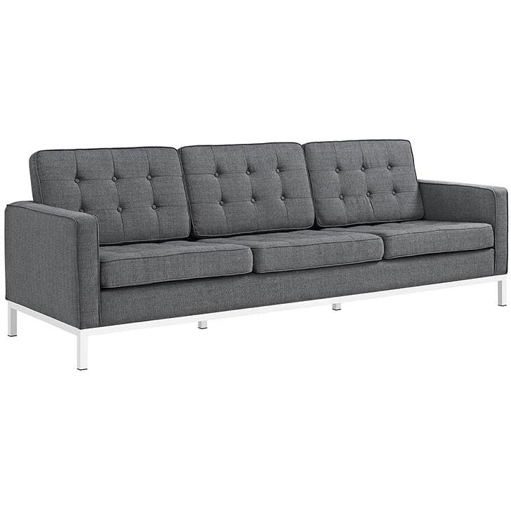 Modway Furniture Modern Loft Fabric Sofa EEI-2052-Minimal & Modern