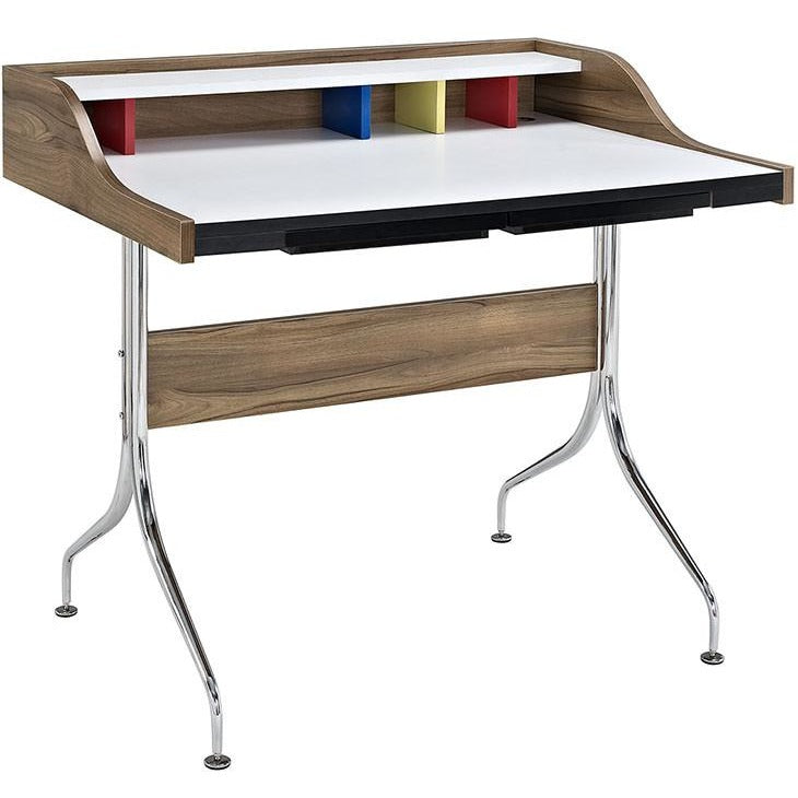 Modway Furniture Modern Sculpt Desk in Natural EEI-2057-NAT-Minimal & Modern