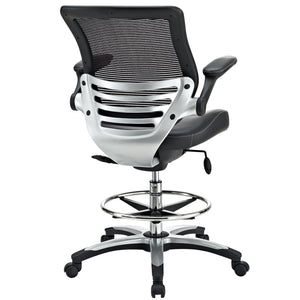Modway Modern Edge Adjustable Computer Office Drafting Chair EEI-211-Minimal & Modern