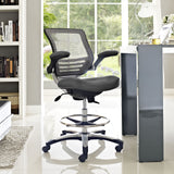 Modway Modern Edge Adjustable Computer Office Drafting Chair - Minimal & Modern - 8