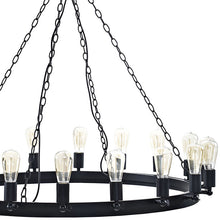 "Modway Furniture Modern Teleport 43"" Chandelier in Brown EEI-2117-BRN-Minimal & Modern"