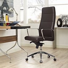 Modway Furniture Modern Stride Highback Office Chair in Gray EEI-2120-GRY-Minimal & Modern