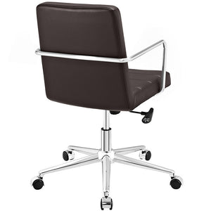Modway Furniture Cavalier Mid Back Office Chair - EEI-2125-Minimal & Modern