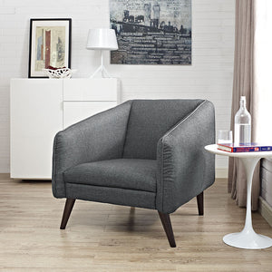 Modway Furniture Modern Slide Upholstered Fabric Armchair EEI-2132-Minimal & Modern