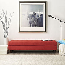 Modway Furniture Modern Upholstered Fabric Empress Bench , Benches - Modway Furniture, Minimal & Modern - 3