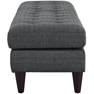 Modway Furniture Modern Upholstered Fabric Empress Bench , Benches - Modway Furniture, Minimal & Modern - 8