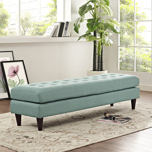 Modway Furniture Modern Upholstered Fabric Empress Bench , Benches - Modway Furniture, Minimal & Modern - 15