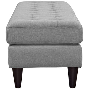 Modway Furniture Modern Upholstered Fabric Empress Bench , Benches - Modway Furniture, Minimal & Modern - 17