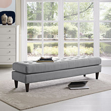Modway Furniture Modern Upholstered Fabric Empress Bench , Benches - Modway Furniture, Minimal & Modern - 18