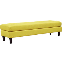 Modway Furniture Modern Upholstered Fabric Empress Bench Sunny, Benches - Modway Furniture, Minimal & Modern - 22